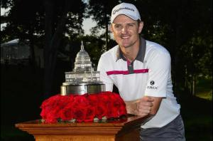 Justin Rose gets his sixth PGA win in the first playoff of his career in the nation's capital.