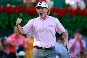 Here is a face we haven't seen from Brandt Snedeker all season. If he finds his way back to the winner's circle this week, we could see a dangerous Snedeker the rest of the season.