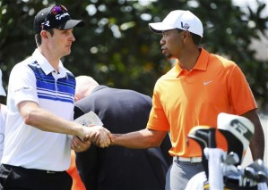 Two golfers who will be heavily followed this week are Justin Rose and Tiger Woods. Photo courtesy of telegraph.co.uk.