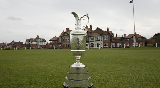 The Open Claret Jug