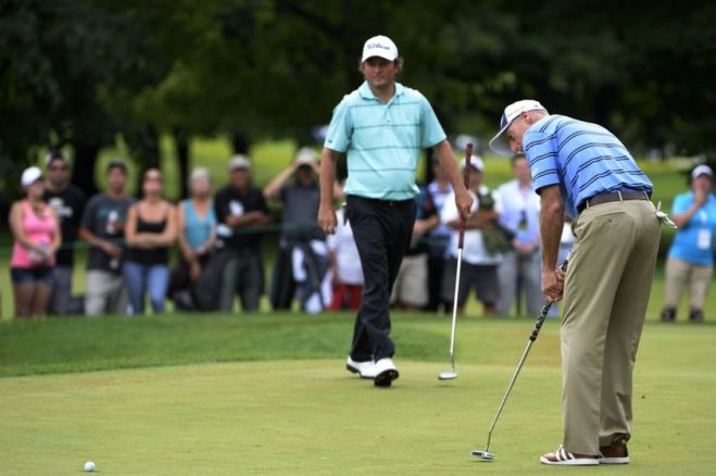 Despite his best efforts, Jim Furyk could not hold off the surging Tim Clark, who won the Canadian Open by one stroke. Photo courtesy of progolfnow.com