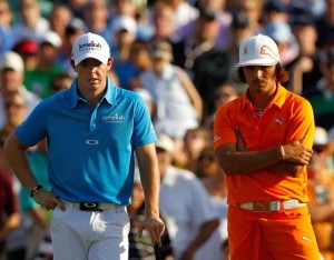 World number one Rory McIlroy will battle Rickie Fowler, his playing partner on Sunday at the Open, who has been red hot in the majors. Photo courtesy of www.indiatimes.com